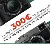 Fujifilm lance ses offres de remboursement (Hiver 2018)