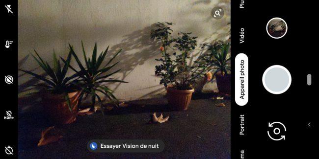 Google Vision de Nuit