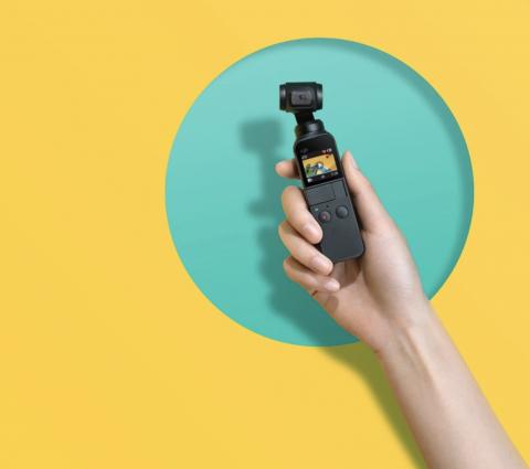 DJI Osmo Pocket : une nouvelle caméra de poche avec nacelle 3 axes