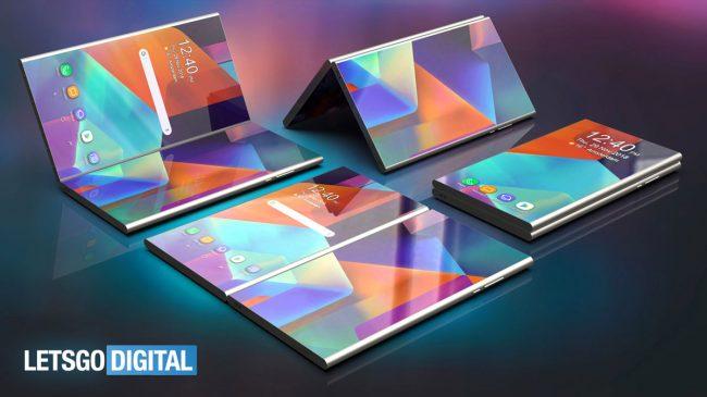Le site Let's Go Digital a imaginé à quoi pourrait ressembler le smartphone de Samsung © Let's Go Digital