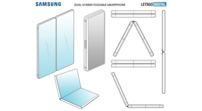 Samsung smartphone double écran pliable