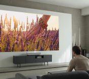 CES 2019 – LG dévoilera un nouveau projecteur CineBeam Laser 4Kultra‑courte focale