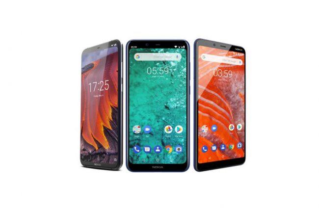 Nouveaux smartphones Nokia janvier 2019