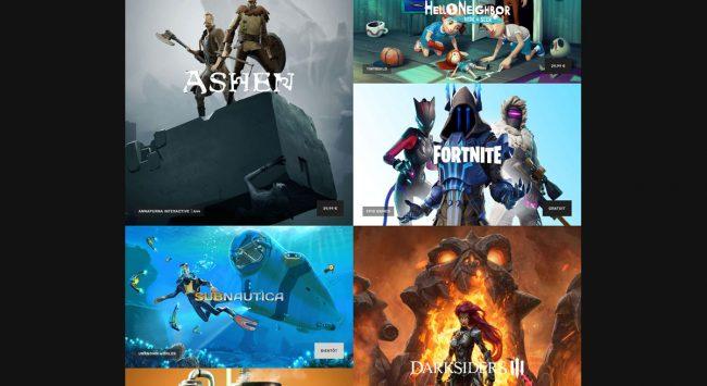 © Capture d'écran (Epic Games Store)
