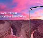 Honor montre son View 20 aveccaméra incrustée dans l'écran et capteur photo de 48 MP