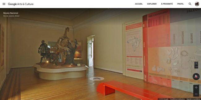 Musée National du Brésil sur Street View