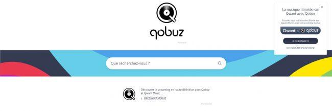 Qwant Music Qobuz