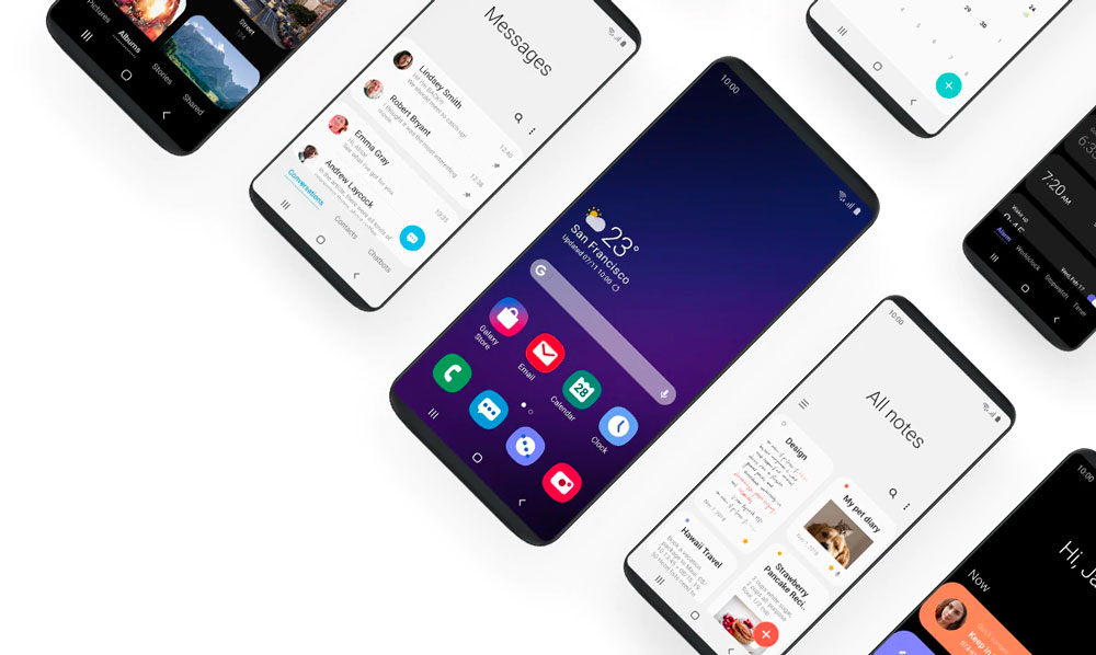 Calendrier Samsung S7.Android 9 0 Pie Et One Ui Samsung Devoile Son Calendrier