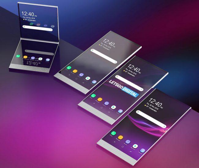 Voici à quoi pourrait ressembler le Xperia avec pliable et transparent de Sony © Let's Go Digital