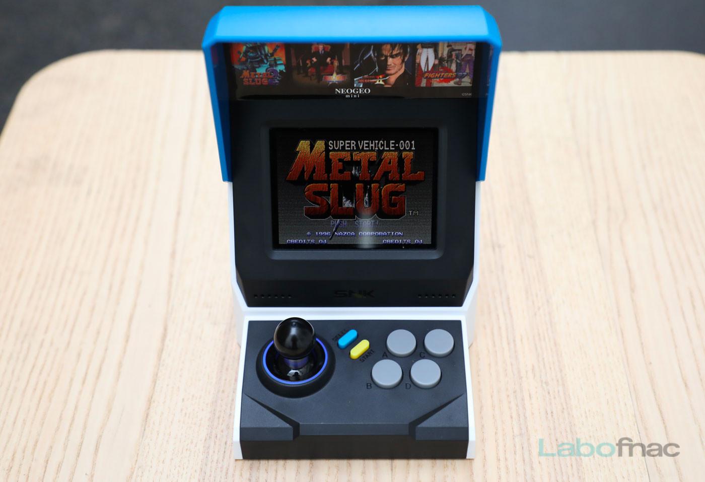 Prise en main de la Neo Geo Mini : une vraie petite borne d'arcade