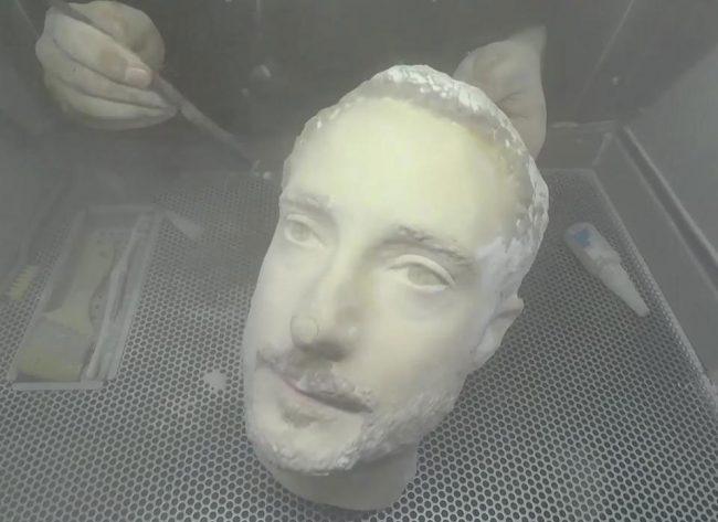 Un visage imprimé en 3D peut tromper le système de reconnaissance faciale d'un smartphone Android © Forbes