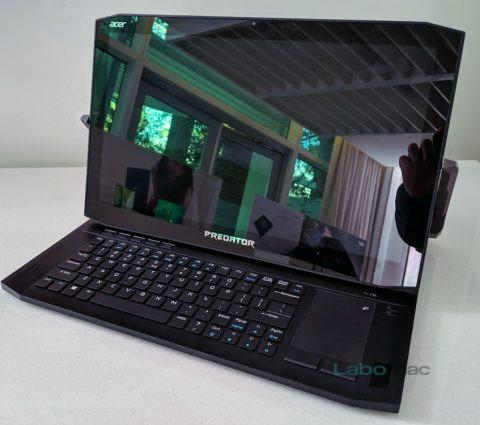 CES 2019 – Acer Predator Triton 900 : un PC gamer convertible aux caractéristiques de pointe