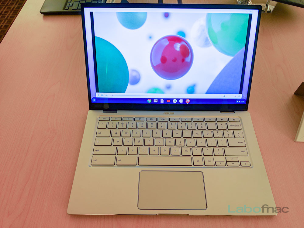 CES 2019 - Asus Chromebook Flip C434 : un Chromebook en version haut