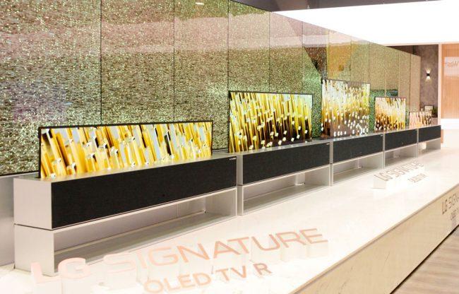 LG Signture OLED TV R