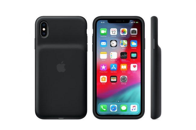 La Smart Battery Case pour iPhone XS Max (Noir) @ Apple