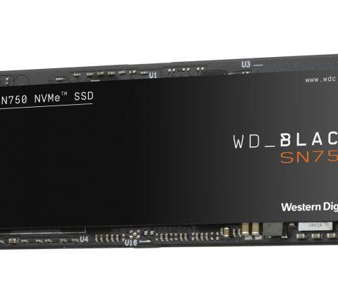 Western Digital Black SN750 NVME SSD : jusqu'à 2 To et un dissipateur thermique en option