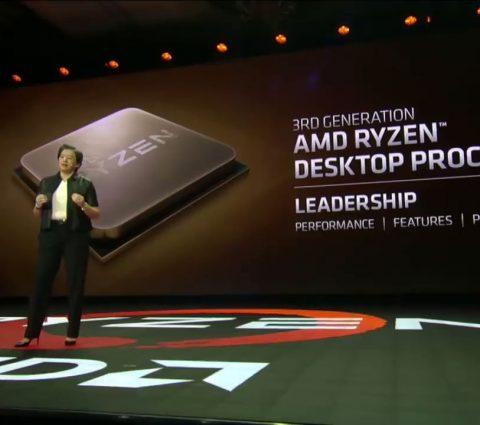 CES 2019 – AMD évoque ses futurs Ryzen gravés en 7 nm