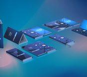 Intel pense à un smartphone pliable en trois sous Windows