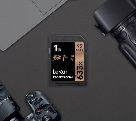 Lexar lance la première carte SD de 1 To