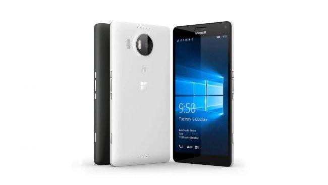 Le Lumia 950 XL © Microsoft