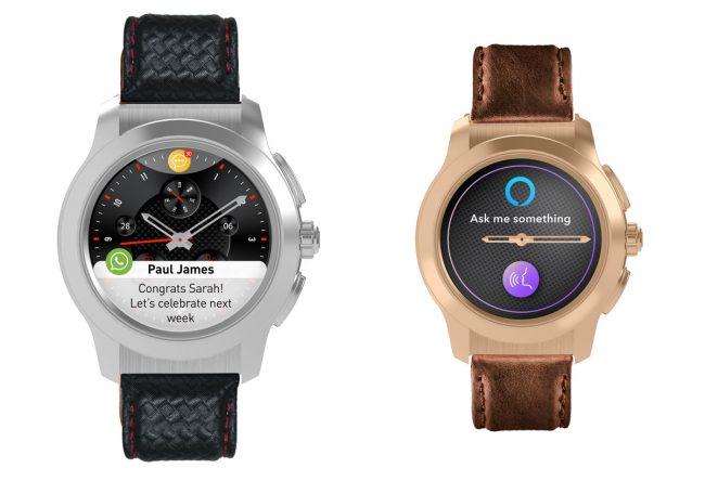 Les montres hybrides ZeTime2 et la ZeTime2 Petite © MyKronoz
