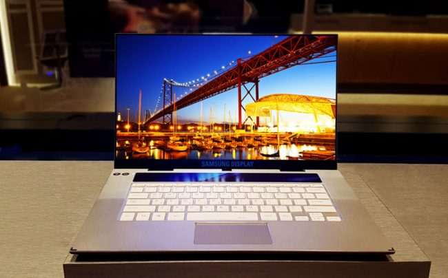 Samsung présente le premier écran OLED 4K de 15,6 pouces pour PC portable