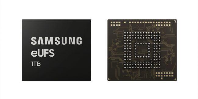 Puce Samsung eUFS 1 To © Samsung