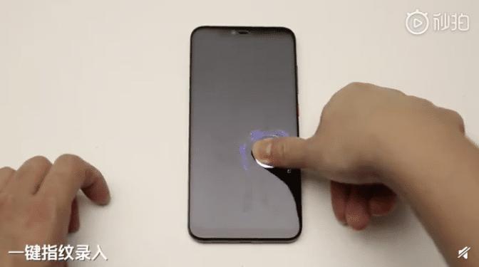 Xiaomi travaille au développement de grands lecteurs d'empreintes sous l'écran