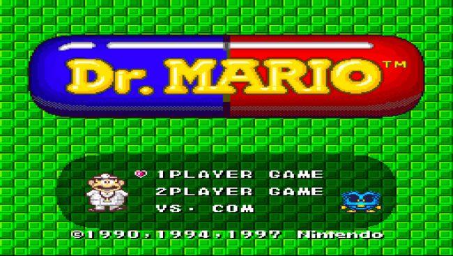 Dr. Mario, en version console. © Nintendo