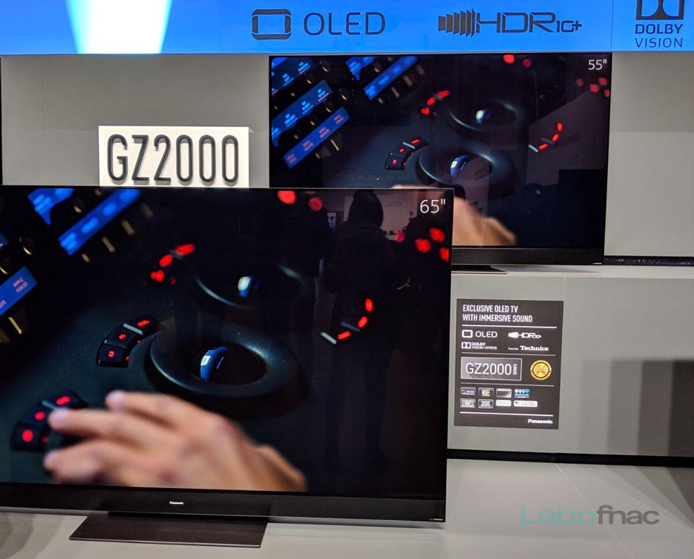 TV OLED : Panasonic annonce quatre gammes, les GZ950, GZ1000