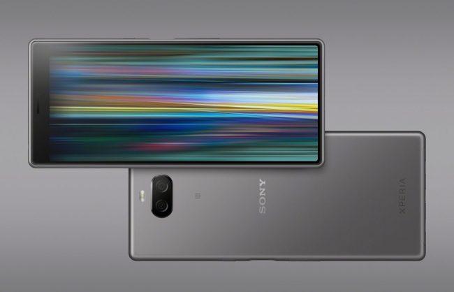 Sony Xperia 10 Plus Argent