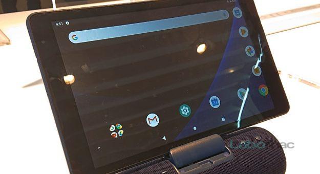 MWC 2019 – Alcatel 3T 10 : une tablette 4G avec dock enceinte pour la maison