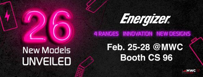 Teaser Energizer pour le MWC 2019