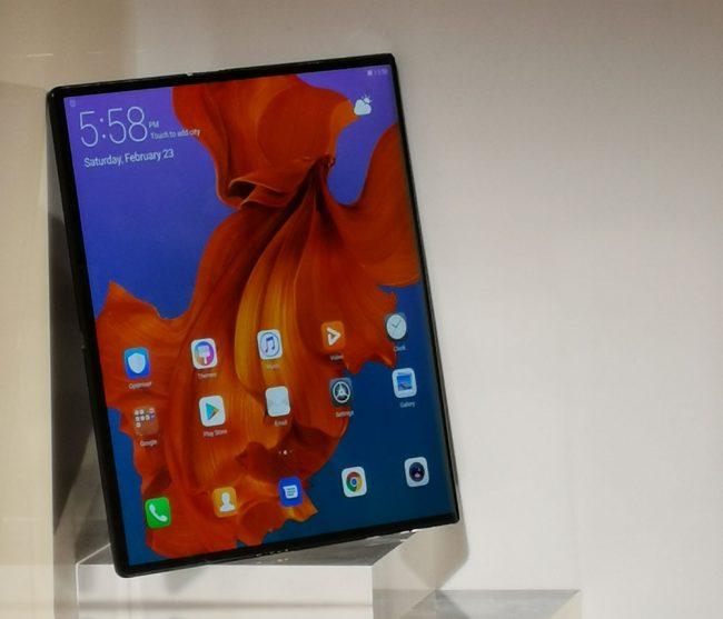Prise en main Huawei Mate X