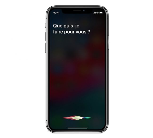 Siri iPhone X