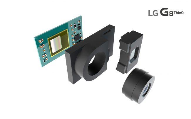 Caméra 3D du LG G8 ThinQ