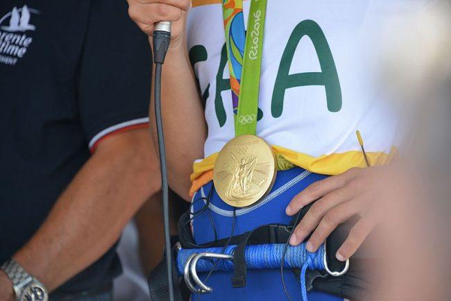 medaille or rio