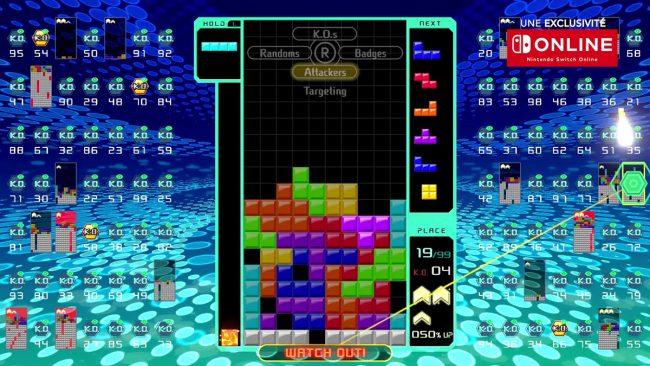 © Capture d'écran ( Nintendo France/Tetris 99)