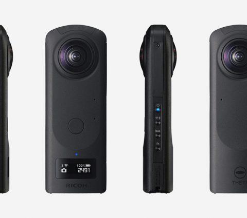 Ricoh Theta Z1 :une caméra 360º et 4K avec stabilisation sur 3 axes