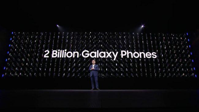 Samsung Galaxy 2 milliards