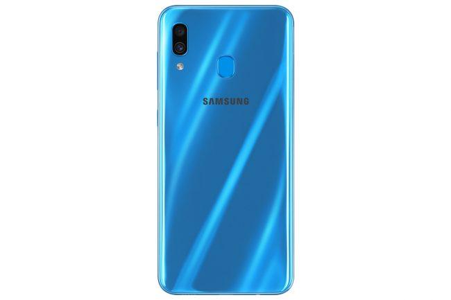 Galaxy A30 (bleu) © Samsung