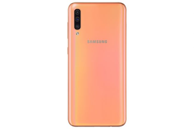 Galaxy A50 (corail) © Samsung