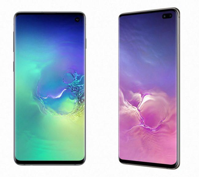 Samsung Galaxy S10 & S10+ © Samsung