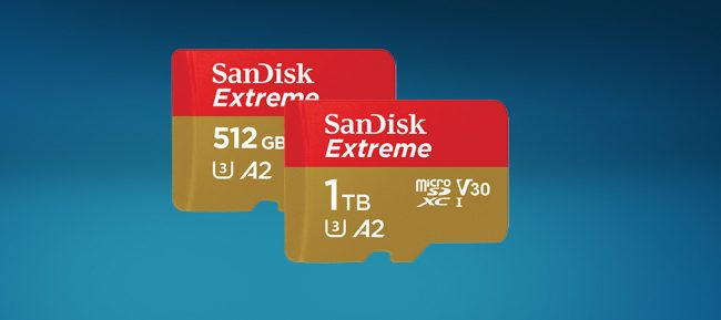 SanDisk microSD 1 To