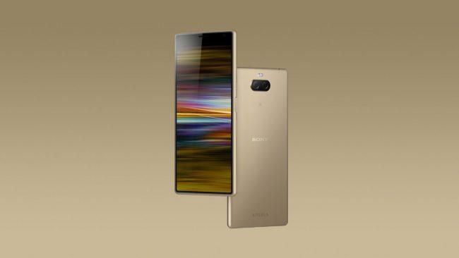 Le Xperia 10 Plus Gold © Sony