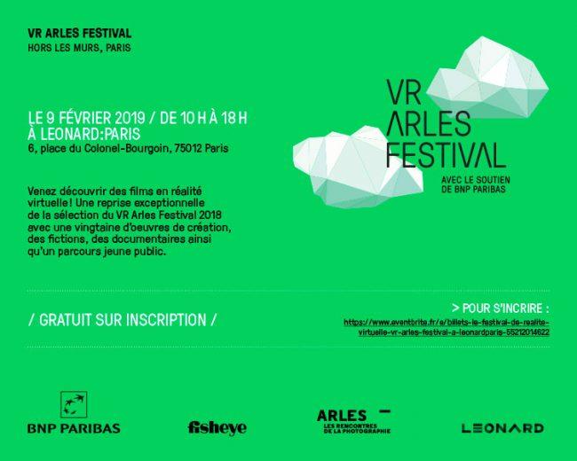 VR Arles Festival hors les murs
