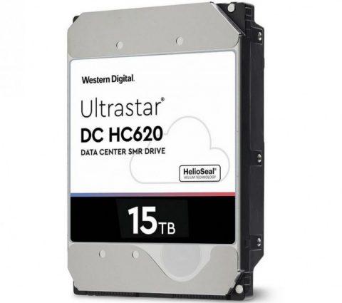 WD Ultrastar DC HC620 : un HDD à la capacité record de 15 To