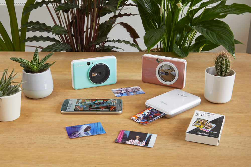 Zeomini C et S : Canon se lance sur le marché des appareils photo instantanés