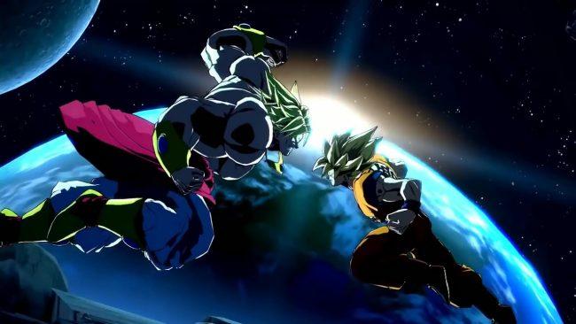 Broly dans le jeu Dragon Ball FighterZ