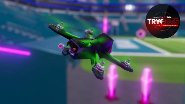 © Capture d'écran (Drone Racing League)